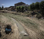 El barro da paso a la incertidumbre en Tafalla