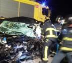 Un 'kamikaze' muere en un accidente múltiple con seis heridos en Gijón