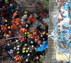 Ascienden a diez los muertos tras derrumbarse un edificio centenario en Bombay