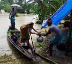 El monzón deja más de 100 muertos en India, Nepal y Bangladesh