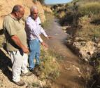 Bardenas crea un caudal ecológico para ganado y fauna