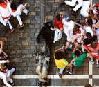 El número de mozos del encierro, unos 14.000, en tendencia descendente