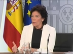 Celaá defiende que el PSOE no ha pactado con Bildu en Navarra y