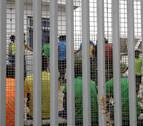 Intento de salto masivo en Melilla que se salda con seis agentes heridos