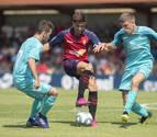 Osasuna se impone al Promesas en el primer partido de la pretemporada