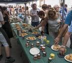 Mendavia presume de gastronomía en la feria de las denominaciones