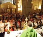 Jóvenes amigos para San Miguel de Aralar