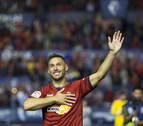 El curioso caso de Xisco Jiménez, delantero de Osasuna