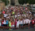 Mil tudelanos 'corren' hacia sus fiestas