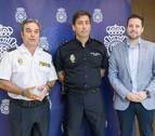 Eduardo Esteban, nuevo jefe de la Policía Nacional en Tudela