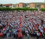 Solidaridad de 2.500 auroros en Andosilla