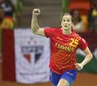 Nerea Pena, una líder y un seguro en la selección española de balonmano