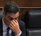Sánchez no obtiene la mayoría absoluta necesaria para ser investido en primera votación