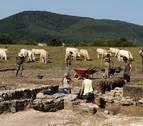 Encajando las piezas del rompecabezas en el yacimiento romano en Burguete