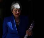 May se despide con buenos deseos para Boris Johnson