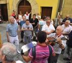 Santiago a ritmo de jota en Puente la Reina