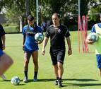 Normalidad en el regreso de Osasuna a los entrenamientos tras el amistoso de Amorebieta