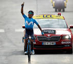 Victoria para Nairo Quintana en una etapa que le acerca al podio del Tour