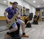 El peluquero saxofonista