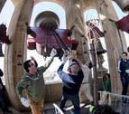 La campana más antigua de la Catedral de Pamplona cumple 500 años este domingo