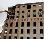 Culmina la demolición de la vieja fábrica de Argal en Echavacoiz
