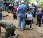 Localizada una nueva fosa común en Echalaz con al menos tres víctimas