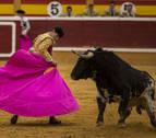 Gran novillada de Pincha en Tudela y dos generosas orejas para Orozco