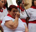 Una emocionada Tere Jiménez recibe el homenaje 'Abuela 2019'