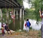 Deporte de aventura y juegos infantiles en Puente la Reina