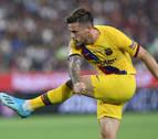 Carles Pérez da el triunfo al Barça en el reencuentro con Iniesta en Japón