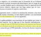 Una carta de Bildu revela que serán &quotinterlocutores prioritarios