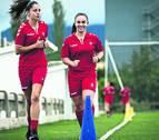 La rojilla Carrillo, convocada con la selección sub-19