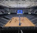 Examen de sobresaliente antes del España-Lituania en el Navarra Arena