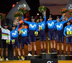 Movistar acaba por sexta vez como mejor equipo del Tour de Francia