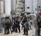 Los manifestantes de Hong Kong desobedecen las restricciones policiales
