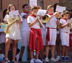 Los niños se sumergen en las tradiciones de San Adrián