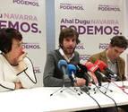 La militancia de Podemos apoya el acuerdo del Gobierno de coalición en Navarra