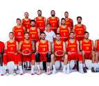 Los dieciséis jugadores de la selección española que pisarán el Navarra Arena