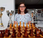 Una joven de Ribaforada, subcampeona de España de ajedrez Sub-14