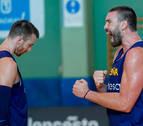 La selección española viaja a Pamplona sin Marc ni Rudy