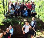 54 jóvenes participan en el campo internacional de voluntariado de Erratzu