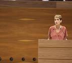 Chivite, presidenta tras lograr mayoría simple gracias a la abstención de Bildu