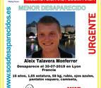 La policía francesa busca a un adolescente español en paradero desconocido