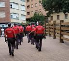 Policía Foral recibe un 34 % más de denuncias penales en fiestas de Tudela