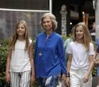 La marcha del rey Juan Carlos no implicará cambios para la reina Sofía