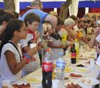 Carcastillo celebra el día de Navarra con una misa y un lunch