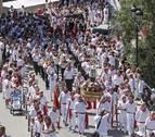La procesión de Estella une