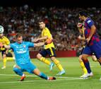 Luis Suárez le da el Gamper al Barça en el último suspiro