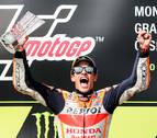 Márquez pilota sólo en Brno desde la salida hasta la meta