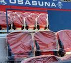 Se estrenan unos 3.000 asientos en la Tribuna Alta